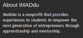imaddu about I Make a Difference, Do You?