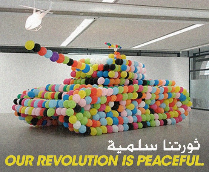 egyptballoontank Breakfast Debate: Did social media limit violence in Egypt's revolution?